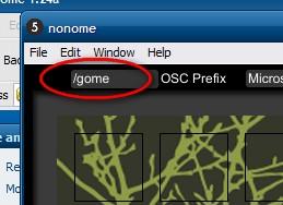 """nonome should read """"/gome"""""""
